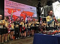 Tour d'Afrique 2014: Medal Ceremony