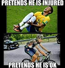 Vorgeben verletzt oder OK zu sein