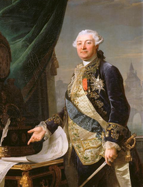 Louis-Charles-Auguste Le Tonnelier, par Louis-François Ménageot, Musée du Louvres