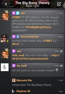 Der Kommentar-Stream. © Screenshot Couchfunk
