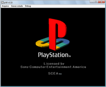 pSX emula la Sony PlayStation 1