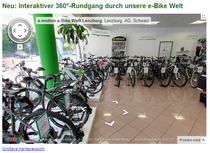 Interaktiver Rundgang e-motion e-Bike Welt