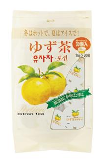 ゆず茶ポーション(26g×30個)