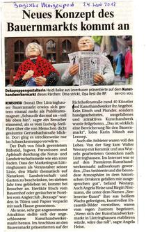 Kunstmeile Herbst- und Bauernmarkt Angela Heise