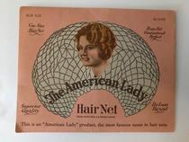 Retina per capelli a caschetto The American Lady - anni '20