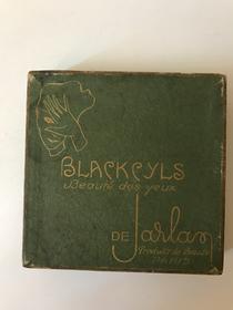 Mascara con spazzolino Blackcyls De Jarlan Paris - anni '20