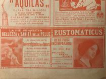 Pubblicità prodotti A.Milani -anni '20