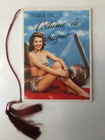 Calendarietto da barbiere 1958