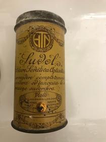 "Deodorante in polvere ""Sudol"" Valli - Art Nouveau"