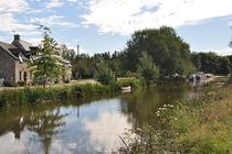 Les bords du canal d'Ille et Rance