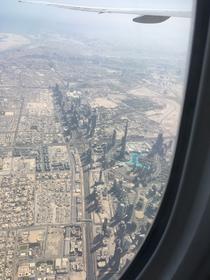 Dubai City aus der Luft. (c) Frank