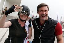 Foto: René Denzer, Janine Breuer-Kolo und Marco Schreyl