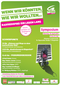Symposium die Grünen
