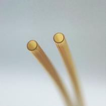 内筒の長手方向に、高さ10数μmのリブを設けます。