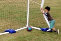 安全、安心!サッカーゴール