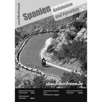 Motorrad Reisebericht über Spanien für Motorradfahrer als E-Book erhältlich.