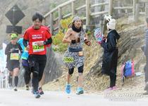 2018年の奈良マラソンの一コマ