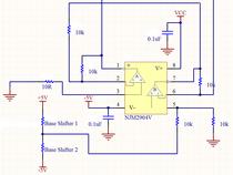 汎用オペアンプを用いた制御回路