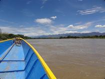 Fahrt über den Rio Magdalena - Kolumbien
