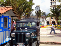 Willys Jeep - Salento - Quindio - Kolumbien