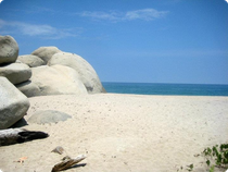 Strand von Arrecifes - Tayrona Nationalpark - Kolumbien