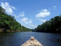 Unterwegs auf dem Rio Mesay - Chiribiquete - Kolumbien (Foto # Oli Schmieg)