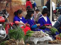 Guambiano Bauernmarkt in Silvia - Kolumbien