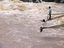 Fischer in Araracuara - Kolumbien