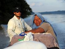 Unterwegs auf dem Rio Yari - Chiribiquete - Kolumbien (Foto # Oli Schmieg)
