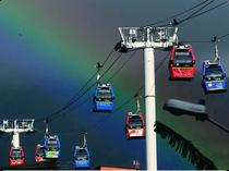 Metro Cable - Medellin - Kolumbien