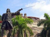 Denkmal von Don Blas de Lezo - Cartagena - Kolumbien