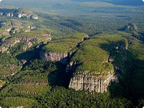 Flug über Chiribiquete - Kolumbien