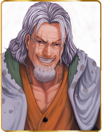 © Silvers Rayleigh of ONE PIECE