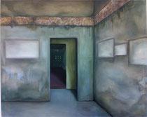 was bleibt ... 2015, Acryl- und Ölfarbe auf Leinwand, 120x150