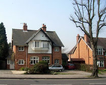 Bournville Village Trust houses in Linden Road