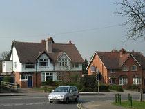 Bournville Village Trust houses in Linden Road