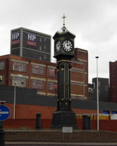 Aston Cross clock