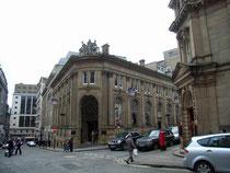 National Provincial Bank at the corner of Waterloo Street