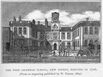 The Free Grammar School was altered c1734.