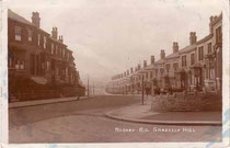 Rosary Road, Gravelly Hill - date unknown, Thanks for the use of this postcard to JKC/ John K Colin on the Birmingham History Webring Forum.