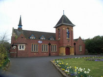 The Methodist Church at the top of Slade Road