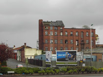 The last surviving buildings of Salltey gas works
