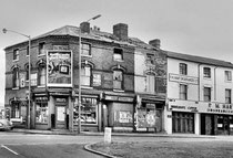 Newtown Row 1970s - photograph reproduced with the kind permission of the late Keith Berry. All Rights Reserved.