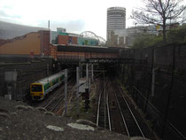 New Street Station - the South Tunnels viewed from Park Street bridge.