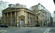Birmingham Banking Company at the corner of Waterloo Street