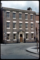 St Mary's Row 1960. Photograph by Phyllis Nicklin - See Acknowledgements, Keith Berry.