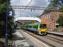 Gravelly Hill Station, looking towards Sutton Coldfield