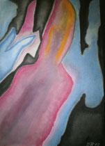Ein Teil Welt von oben, 2013, Pastell auf Papier, BxH 36x48cm
