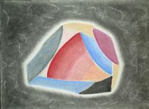 Farbenspiel, 2013, Pastell auf Papier, BxH 42x30cm