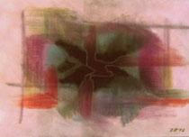 Konturen, 2012, Pastell auf Papier, BxH 30x21 cm